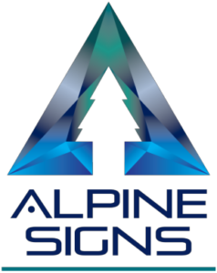 alpine sign logo coming soon